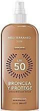Parfüm, Parfüméria, kozmetikum Lotion napozáshoz - Mediterraneo Sun Suntan Lotion SPF50