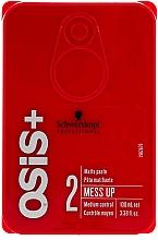 Parfüm, Parfüméria, kozmetikum Mattító hatású hajpaszta - Schwarzkopf Professional Osis+ Mess Up Matt Gum