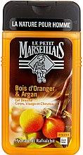 """Parfüm, Parfüméria, kozmetikum Tusfürdő """"Narancsfa és argán"""" - Le Petit Marseillais Men Body and Hair"""