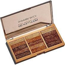 Parfüm, Parfüméria, kozmetikum Glitter paletta arcra - Makeup Revolution Shimmer Brick Palette