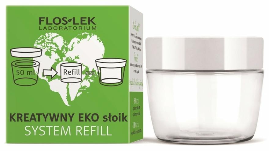 Univerzális eko-üveg krémre - Floslek Creative Eco Jar System Refill