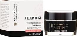 Parfüm, Parfüméria, kozmetikum Ránctalanító szemkörnyékápoló krém - Arganicare Collagen Boost Perfecting Eye Cream