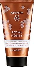 Parfüm, Parfüméria, kozmetikum Hidratáló testkrém - Apivita Royal Honey Rich Moisturizing Body Cream