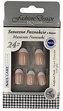 """Parfüm, Parfüméria, kozmetikum Műköröm tip """"Francia manikűr"""", 77951 - Top Choice Fashion Design"""