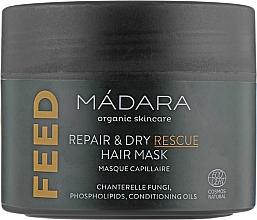 Parfüm, Parfüméria, kozmetikum Tápláló hajmaszk - Madara Cosmetics Feed Repair & Dry Rescue Hair Mask