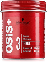 Parfüm, Parfüméria, kozmetikum Rugalmas formázó hajzselé - Schwarzkopf Professional Osis+ Thrill Texture Fibre Gum