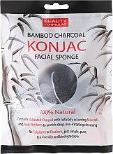 Parfüm, Parfüméria, kozmetikum Sminklemosó szivacs - Beauty Formulas Konjac Bamboo Charcoal Facial Sponge