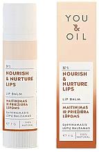 """Parfüm, Parfüméria, kozmetikum Ajakbalzsam """"Táplálás és ápolás"""" - You & Oil Nourish & Nurture Lip Balm"""