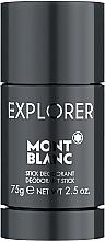 Parfüm, Parfüméria, kozmetikum Montblanc Explorer - Izzadásgátló stift