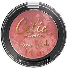 Parfüm, Parfüméria, kozmetikum Arcpirosító - Celia Woman Rose Blush Mosaic