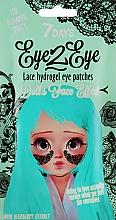 Parfüm, Parfüméria, kozmetikum Csipkés hidrogél szemtapasz áfony kivonattal - 7 Days Eye2Eye Hydrogel Patches