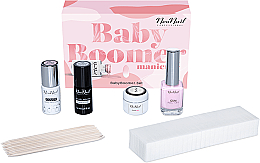 Parfüm, Parfüméria, kozmetikum Szett - NeoNail Professional Baby Boomer Set (top/7,2ml + base/7,2ml + gel/5ml + gum/12ml + sponge/25pc + sticks/10pc)