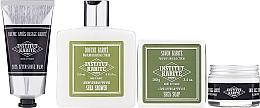 Parfüm, Parfüméria, kozmetikum Készlet - Institut Karite Men Daily Routine 2 (f/cr/50ml + ash/balm/75ml + bag + soap/100g + sh/gel/250ml)