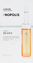 Parfüm, Parfüméria, kozmetikum Tápláló arcmaszk - Missha Nutrition Solution Sheet Mask