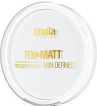 Parfüm, Parfüméria, kozmetikum Kompakt púder - Delia Fix & Matt Skin Defined