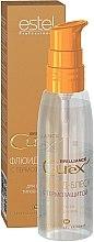 Parfüm, Parfüméria, kozmetikum Hővédő fluid-fény minden hajtípusra - Estel Professional Curex Brilliance Fluid
