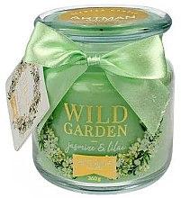 Parfüm, Parfüméria, kozmetikum Illatosított gyertya, 10x11 cm, 360 g. - Artman Wild Garden Jasmin & Lilac