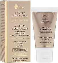 Parfüm, Parfüméria, kozmetikum Szemkörnyékápoló szérum - Ava Laboratorium Beuty Home Care Eye Contour Serum With Algae & Coenzyme Q10