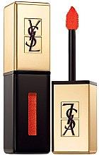 Parfüm, Parfüméria, kozmetikum Hosszan tartó rúzs és ajakfény 2 az 1-ben - Yves Saint Laurent Rouge Pur Couture Vernis a Levres Glossy Stain (Limited Edition)