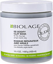 Parfüm, Parfüméria, kozmetikum Hajmaszk - Matrix Biolage R.A.W. Re-Bodify Clay Mask