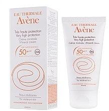 Parfüm, Parfüméria, kozmetikum Napvédő krém - Avene Solaires Mineral Cream SPF 50+