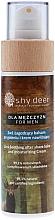 Parfüm, Parfüméria, kozmetikum Nyugtató és hidratáló borotválkozás utáni balzsam férfiaknak - Shy Deer For Men 2in1 Sothing After Shave Balm And Moisturizing Cream