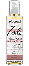 Parfüm, Parfüméria, kozmetikum Hajmaszk - Nacomi 7 Oils Natural Hair Mask