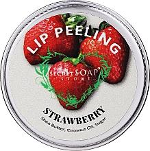 """Parfüm, Parfüméria, kozmetikum Cukros ajakradír """"Eper"""" - The Secret Soap Store Lip Scrub"""