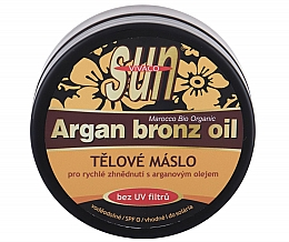Parfüm, Parfüméria, kozmetikum Barnító bronzosító olaj - Vivaco Sun Argan Bronze Oil Tanning Butter