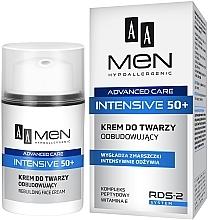 Parfüm, Parfüméria, kozmetikum Regeneráló arckrém - AA Men Advanced Care Intensive 50+ Face Cream Rebuilding