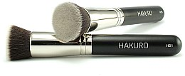 """Parfüm, Parfüméria, kozmetikum Alapozó ecset """"H51"""" - Hakuro"""