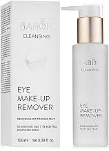 Parfüm, Parfüméria, kozmetikum Szemkörnyék sminkeltávolító lotion - Babor Cleansing Eye Make up Remover