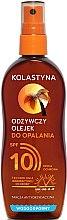 Parfüm, Parfüméria, kozmetikum Vízálló napozó olaj SPF 10 - Kolastyna