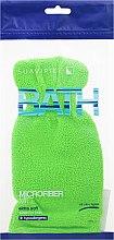 Parfüm, Parfüméria, kozmetikum Fürdőszivacs kesztyű, salátazöld - Suavipiel Bath Micro Fiber Mitt Extra Soft