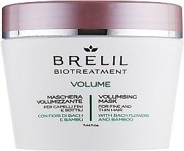 Parfüm, Parfüméria, kozmetikum Hajdúsító maszk - Brelil Bio Treatment Volume Hair Mask