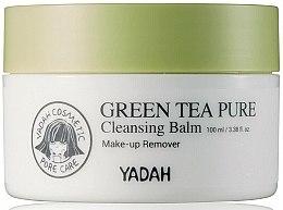Parfüm, Parfüméria, kozmetikum Tisztító arcbalzsam zöld teával - Yadah Green Tea Pure Cleansing Balm