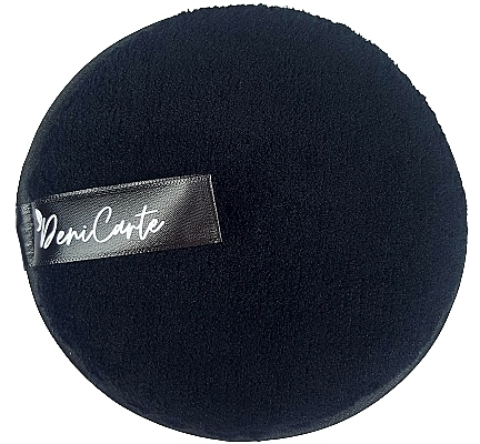 Mosakodó szivacs, fekete - Deni Carte Face Wash Microfiber Black