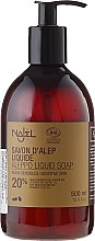 Parfüm, Parfüméria, kozmetikum Alep folyékony szappan 20%-os babér olajjal - Najel Liquid Aleppo Soap