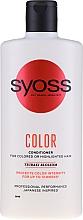 Parfüm, Parfüméria, kozmetikum Balzsam festett és vékony hajra - Syoss Color Tsubaki Blossom Conditioner
