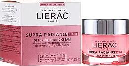 Parfüm, Parfüméria, kozmetikum Méregtelenítő éjszakai frissítő krém - Lierac Supra Radiance Creme Renovatrice Detox Nuit