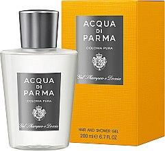 Parfüm, Parfüméria, kozmetikum Acqua di Parma Colonia Pura Hair and Shower Gel - Tusfürdő