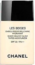 Parfüm, Parfüméria, kozmetikum Hidratáló folyékony alapozó - Chanel Les Beiges Sheer Healthy Glow SPF 30/PA++