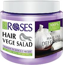 Parfüm, Parfüméria, kozmetikum Helyreállító maszk hajhullás ellen vékonyszálú hajra - Nature of Agiva Roses Hairfall Defense Hair Mask