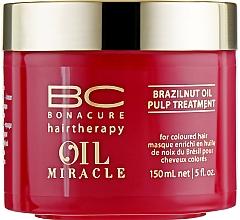 Parfüm, Parfüméria, kozmetikum Maszk brazília dióolajjal - Schwarzkopf Professional Bonacure BC Miracle Brazilnut Oil Pulp Treatment
