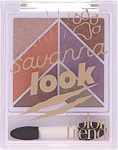Parfüm, Parfüméria, kozmetikum Szemhéjpúder paletta - Avon Color Trend Savanna Look Eyeshadow Palette