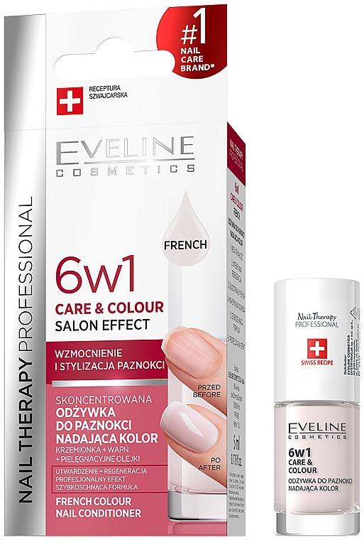 Körömerősítő 6 az 1-ben - Eveline Cosmetics Nail Therapy Professional