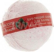 """Parfüm, Parfüméria, kozmetikum Pezsgő fürdőgolyó """"Szamóca sörbet"""" - Le Cafe de Beaute Bubble Ball Bath"""