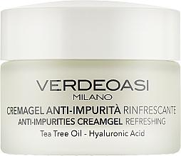 Parfüm, Parfüméria, kozmetikum Frissítő krém-gél - Verdeoasi Anti-Impurities Creamgel Refreshing