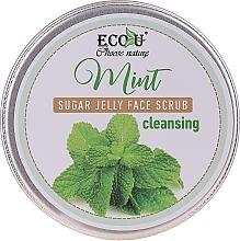 Parfüm, Parfüméria, kozmetikum Arctisztító radír mentával és cukorzselével - Eco U Cleansing Mint Sugar Jelly Face Scrub