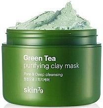 Parfüm, Parfüméria, kozmetikum Arcmaszk anyaggal és zöld teával - Skin79 Green Tea Purifying Clay Mask